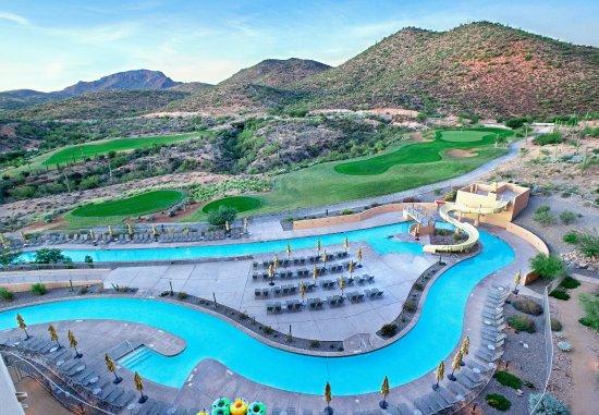 JW Marriott Tucson Starr Pass Resort & Spa : Lazy River View Guest Room
