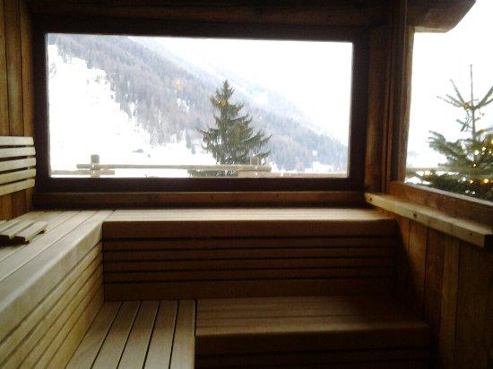 La Madonnina del Gran Paradiso : la sauna