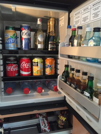 Chessy, Frankrig: Mini Bar payant