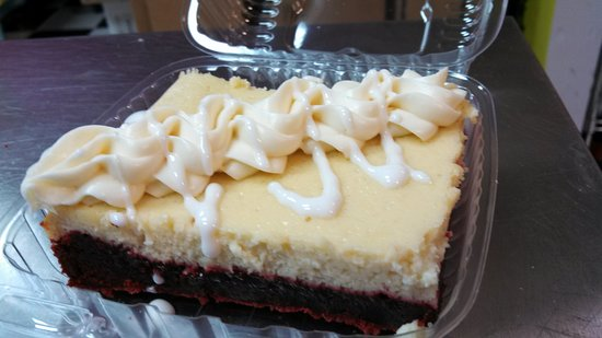 Mount Juliet, TN: Red Velvet Cheesecake Brownie