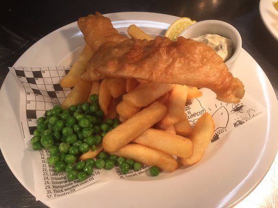 The Otter Inn: Lovely Fish and Chips