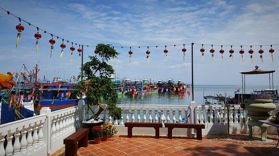 Pulau Penang, Maleisië: Sam Poh Footprint Temple