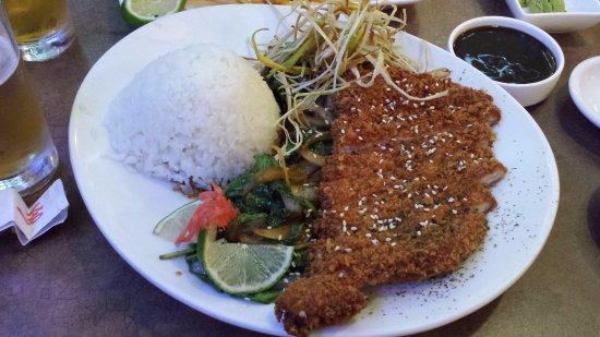 No Coast Sushi : Tonkatsu (sauce on the side)