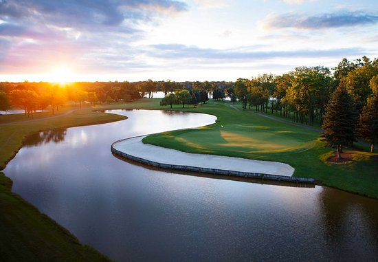 Ypsilanti, Мичиган: Ford Lake & Eagle Crest Golf Course