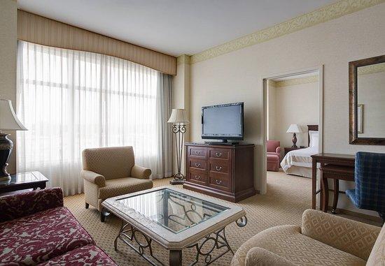 Ρέντμοντ, Ουάσιγκτον: Vice Presidential Suite    Living Area