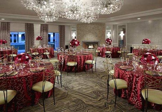 San Mateo, Kalifornia: Engage Ballroom    Banquet Setup