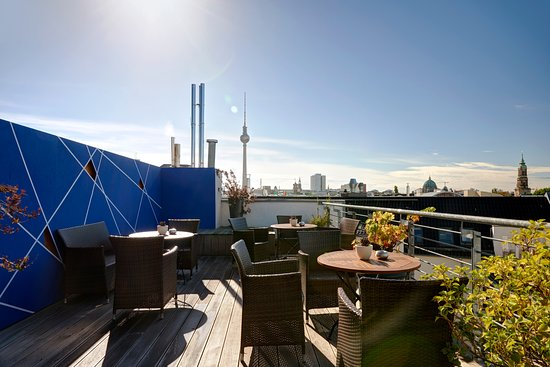 The Circus Hotel: Roof Terrace / View