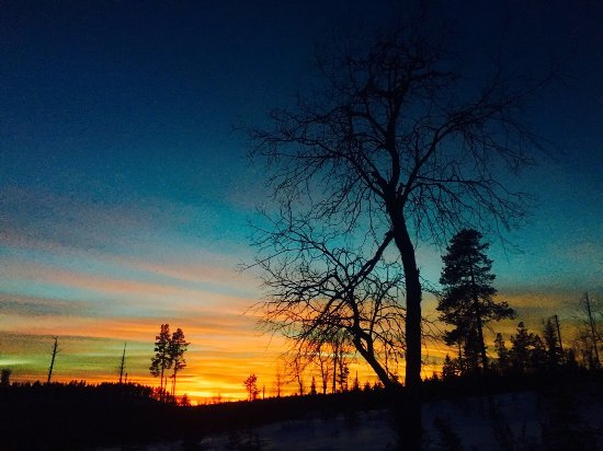 Overtornea, Suécia: Winter in Övertorneå ist einfach fantastisch!