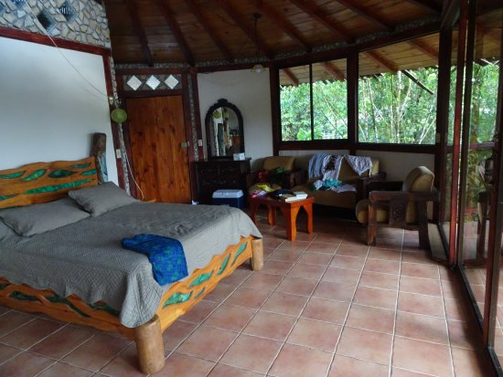 San Vito, Costa Rica: The room....