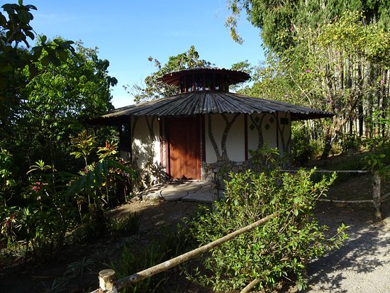 Hotel Cascata Del Bosco: Our individual cabin.
