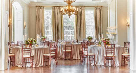 Graydon Hall Manor The Great Features French Grey Walls Silk Drapes Sunny