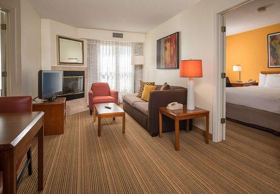 Charleston, WV: Two-Bedroom Suite Living Area