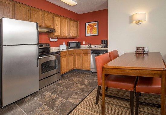 Charleston, WV: Two-Bedroom Suite Kitchen