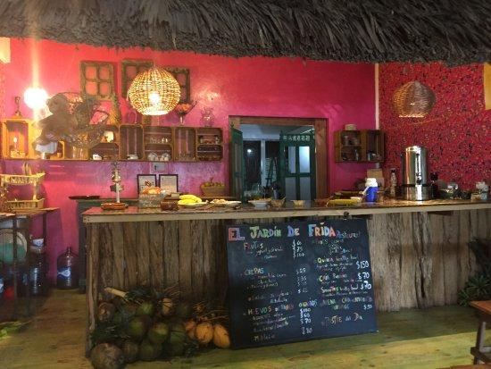 El Jardín de Frida: restaurant