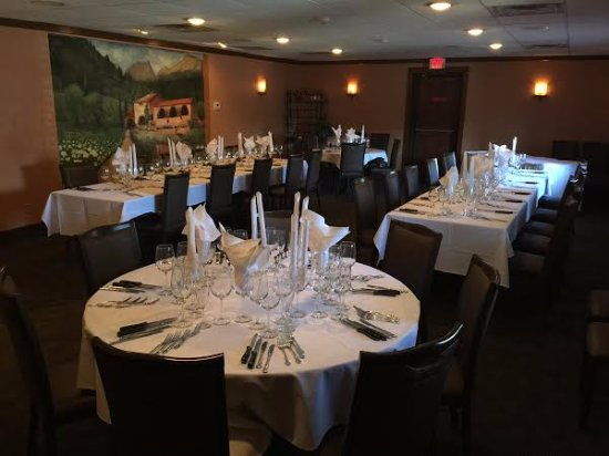 Akron, OH: Our Prima Vera Room - one of our private dining rooms