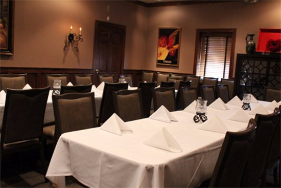 Akron, OH: Our Tuscany Room - another one  of our private dining rooms