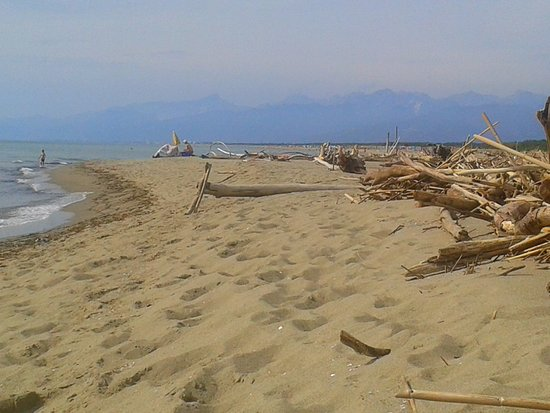San Martino in Freddana, Italy: Beach is close