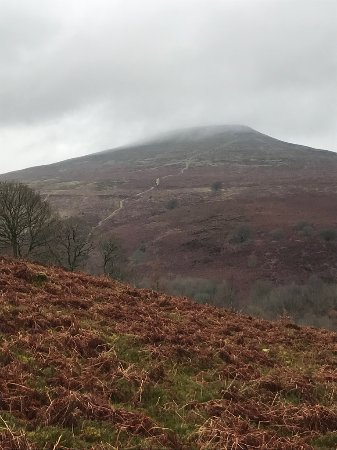 Abergavenny, UK: View on the way up