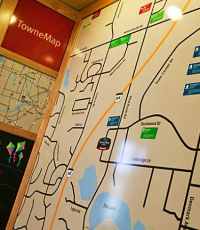 TownePlace Suites Minneapolis-St. Paul Airport/Eagan: TowneMap
