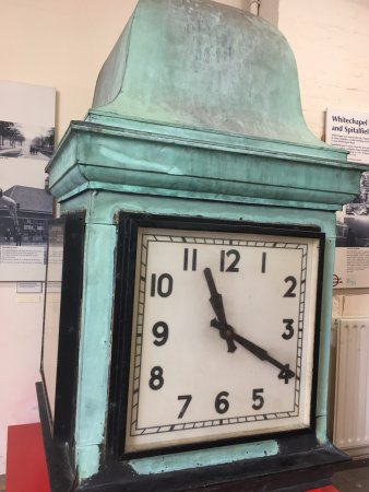 Ragged School Museum : The clock from Victoria Park.