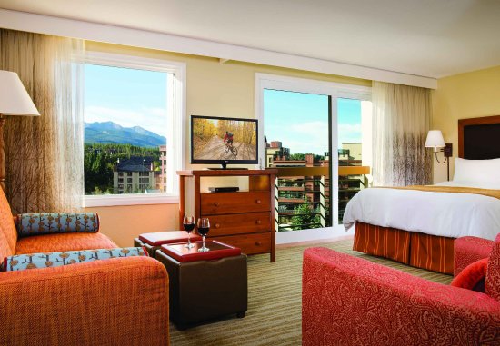 Marriott's Mountain Valley Lodge at Breckenridge: Studio - Living & Sleeping Areas