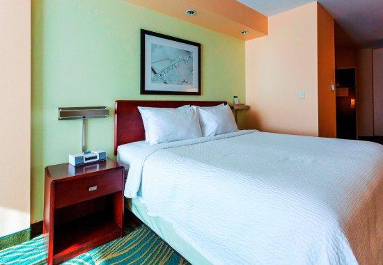 Devens, MA: King Suite    Sleeping Area
