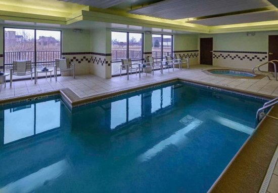 Bolingbrook, Ιλινόις: Indoor Pool & Whirlpool