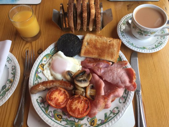 Orchard Cottage: Great Breakfast