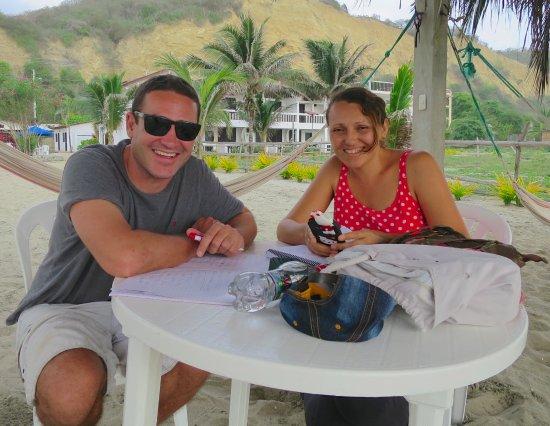 Sundown Beach Hotel: Clases de Español con Veronika son divertidos y fantásticos! Extraño Veronika