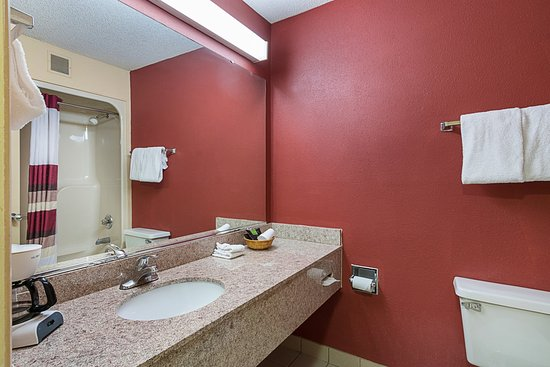 Red Roof Inn Hardeeville: Bathroom