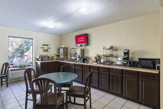Hardeeville, SC: Breakfast Area