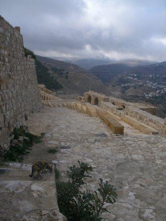 Karak, Jordanië: стены