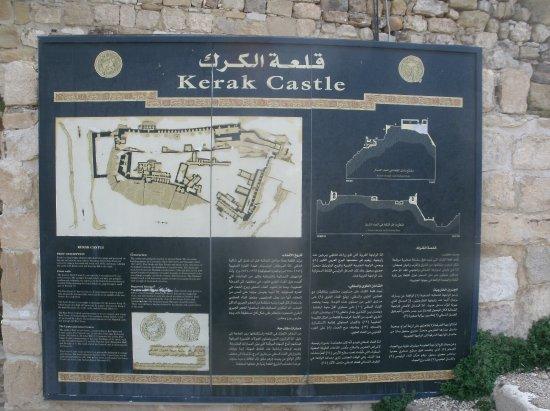 Karak, จอร์แดน: схема замка