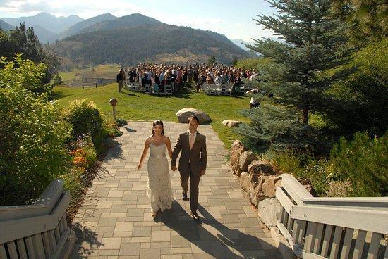 Winthrop, واشنطن: Sun Mountain Lodge wedding