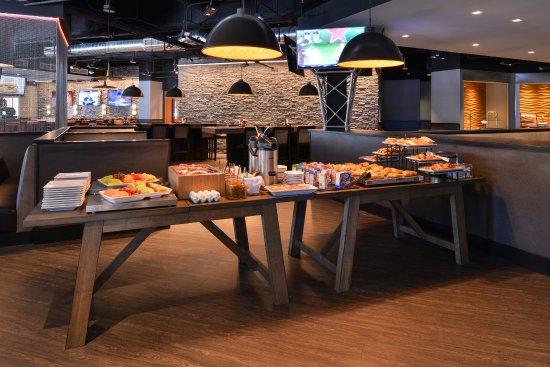 La Mirada, Califórnia: Breakfast Bar