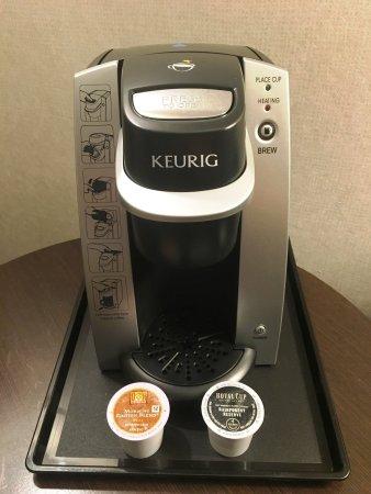 Carle Place, État de New York : Keurig Single Cup Coffee Makers with Rainforest K-Cups