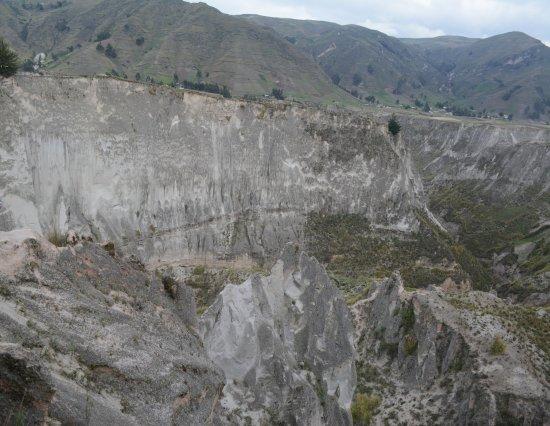 Pujili, Ecuador: Vista del Cañon