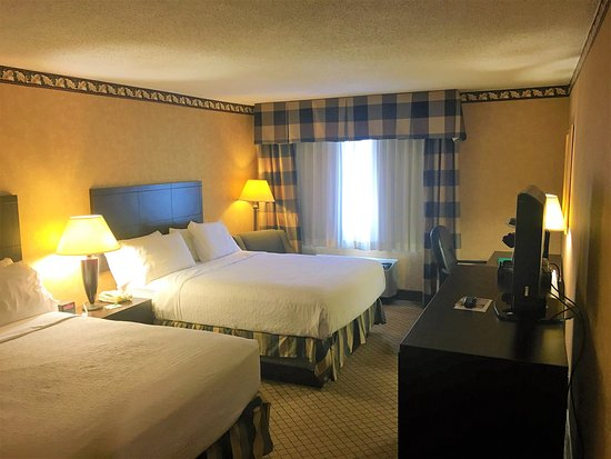 Holiday Inn Oneonta: Queen Bed Guest Room