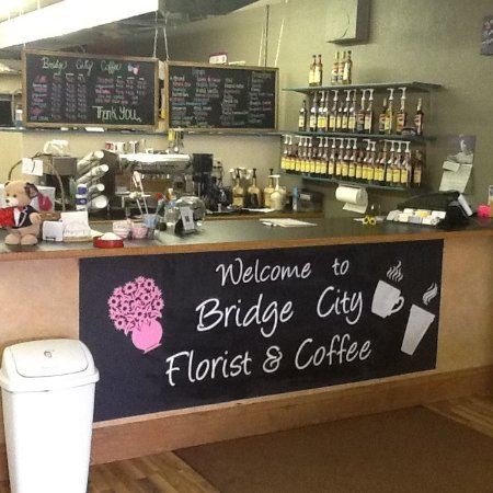 Mobridge, Dakota del Sur: Full service Coffee shop