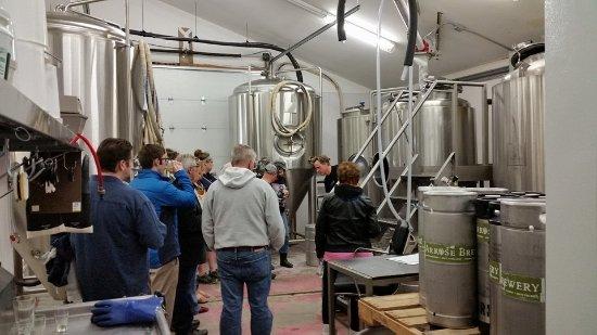 Palmer, AK: Brewery tours