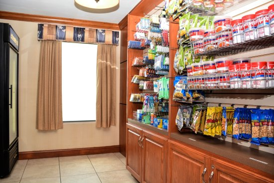 Holiday Inn Express Fayetteville - Ft. Bragg: Suite Shop  - Stocked with all the essentials including ice cream!
