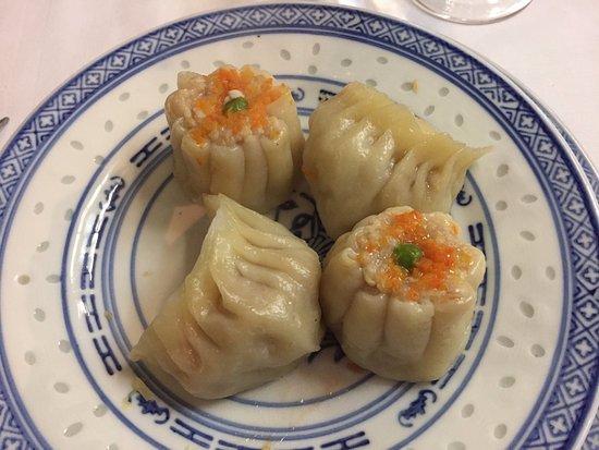 Ristorante Cinese Oriente: Xiao Mai con gamberi e ravioli al vapore
