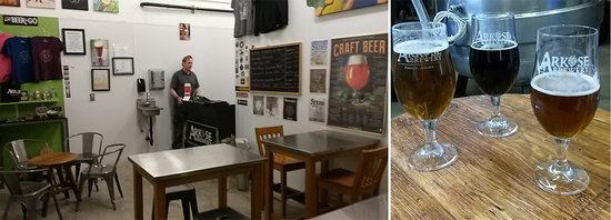 Palmer, AK: Arkose Brewery taproom