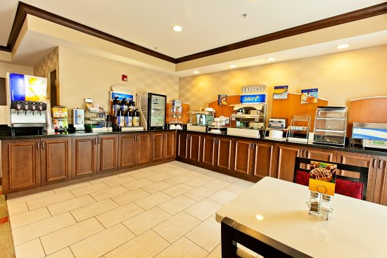 Holiday Inn Express Bothell Breakfast Bar