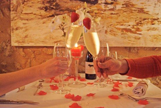 Son Servera, España: Mesa de San Valentín
