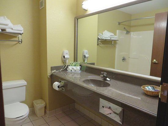 Warrensburg, Миссури: Guest Bathroom