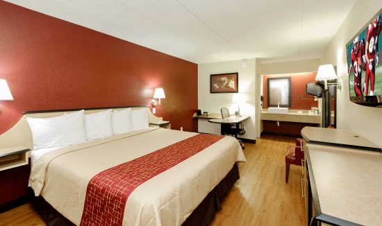 Red Roof Inn Columbus West: Superior King