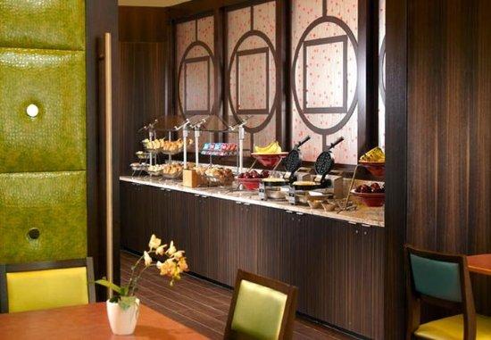 Fairfield Inn & Suites Washington, DC/Downtown: Breakfast Area