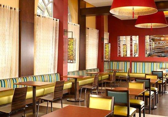 Fairfield Inn & Suites Washington, DC/Downtown: Breakfast Sitting Area