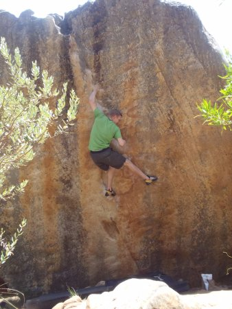 Clanwilliam, South Africa: climbing